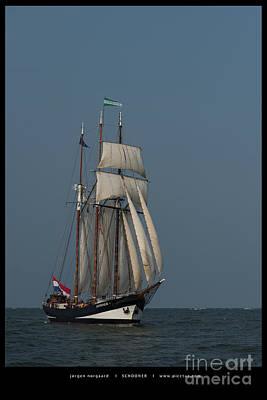 Photograph - Tall Ship Race by Jorgen Norgaard