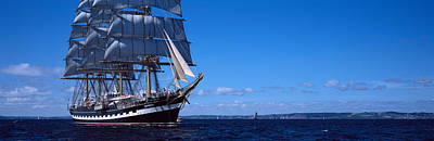 Tall Ships Photograph - Tall Ships Race In The Ocean, Baie De by Panoramic Images