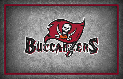 Tampa Bay Buccaneers Art Print by Joe Hamilton