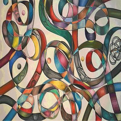 #2 Tangled Series Art Print