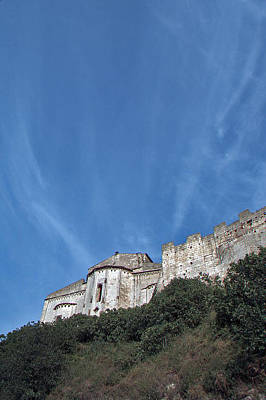 Tarquinia The Walls And The Apse Art Print