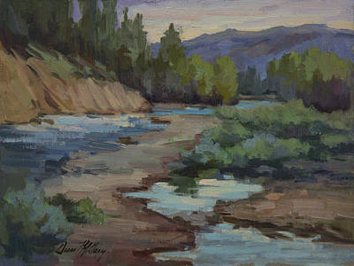 Painting - Teanaway River by Diane McClary