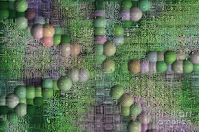 Periphery Digital Art - Technology Abstract Background by Michal Boubin