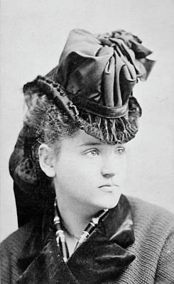 Celeste Photograph - Tennessee Celeste Claflin (1846-1923) by Granger