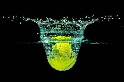 Photograph - Tennis Ball by Peter Lakomy