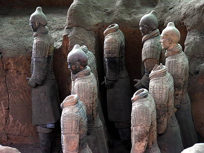 Photograph - Terra Cotta Warriors - X'ian by Jacqueline M Lewis