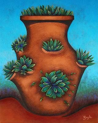 Terracotta I Art Print