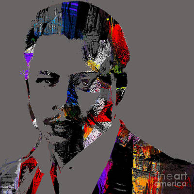 Terrence Howard Collection Print by Marvin Blaine