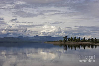 Photograph - Teslin Lake  by Inge Riis McDonald