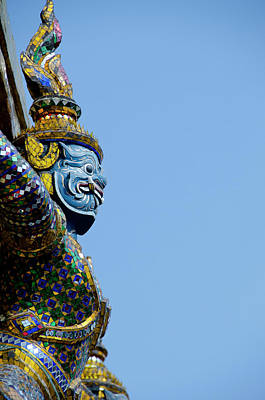 Aliens Photograph - Thailand, Bangkok by Cindy Miller Hopkins