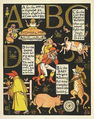 The Absurd Abc Art Print