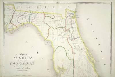 The American Atlas Art Print