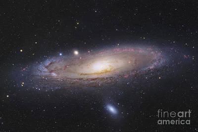 The Andromeda Galaxy Art Print by Robert Gendler