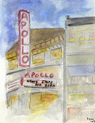 The Apollo Theatre Art Print