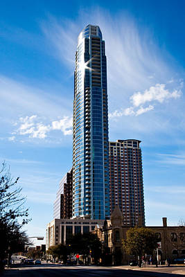 Skyscapers Photograph - The Austonian by Mark Weaver