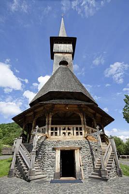 The Barsana Monastery Romania Art Print by Martin Zwick