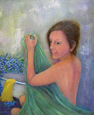 Painting - The Bath by Loretta Luglio