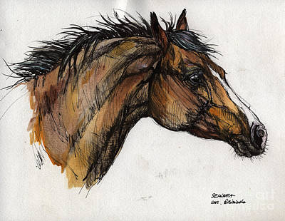 The Bay Horse Original by Angel  Tarantella