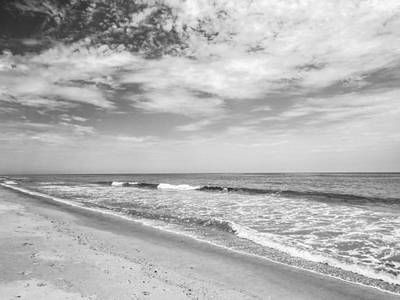 Iphone Case Photograph - The Beach Black And White by Zina Stromberg
