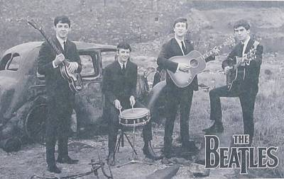 English Rock Groups Photograph - The Beatles by Donna Wilson