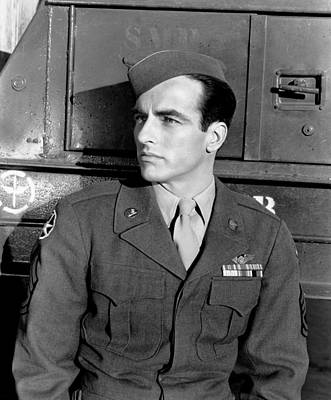 1950 Movies Photograph - The Big Lift, Montgomery Clift, 1950 by Everett
