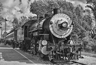 Train Tracks Photograph - The Brakeman by Robert Frederick