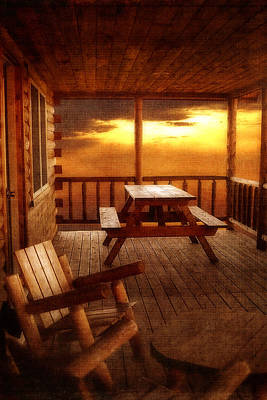 The Cabin Art Print by Joann Vitali