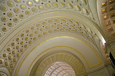 Scifi Portrait Collection - The Ceiling Of Union Station by Cora Wandel