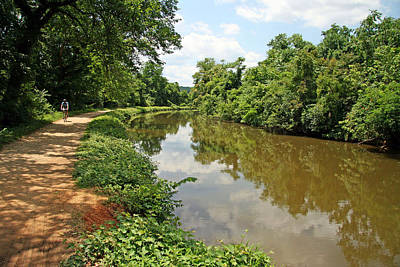 The Chesapeake And Ohio Canal Art Print by Cora Wandel