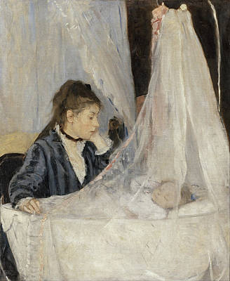 The Cradle Art Print by Berthe Morisot