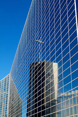 Art Print featuring the photograph The Crystal Cathedral by Duncan Selby