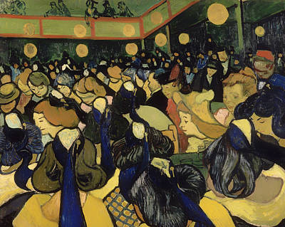 Dance Halls Painting - The Dance Hall In Arles by Mountain Dreams