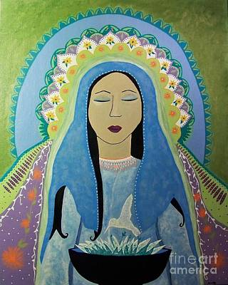 Painting - The Divine Feminine by Jean Fry
