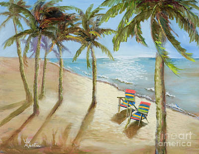 Painting - The Get-away by Vic  Mastis