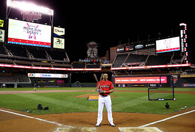 Photograph - The Gillette Home Run Derby by Elsa