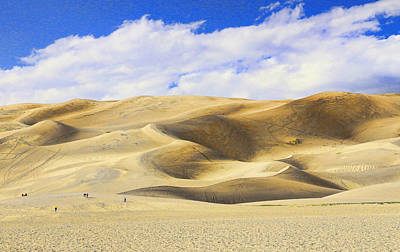 Photograph - The Great Sand Dunes National Park 3 by Allen Beatty