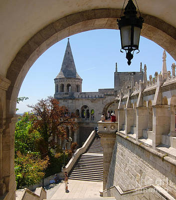 Budapest Tours Photograph - The Great Tower Of Fishermen's Bastion by Michal Bednarek