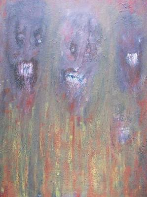 Painting - The Grin by Randall Ciotti