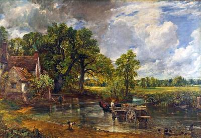The Hay Wain Art Print by John Constable