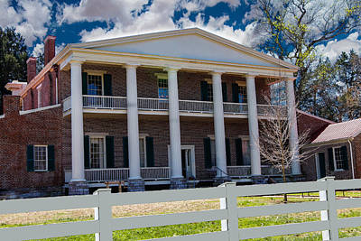Home Of Andrew Jackson Photograph - The Hermitage by Robert Hebert
