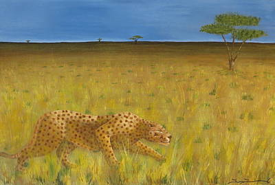 The Hunt Art Print by Tim Townsend