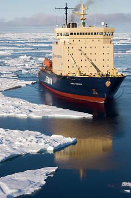 Power Trip Photograph - The Icebreabker Kapitan Khlebnikov by Daisy Gilardini