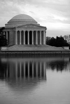 Photograph - The Jefferson Memorial by Cora Wandel