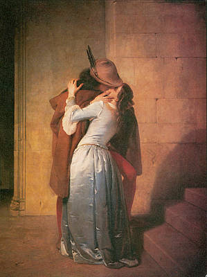The Kiss Art Print by Francesco Hayez