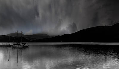 Light And Dark Photograph - The Lake District by Martin Newman