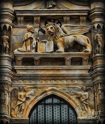 Photograph - The Lion Of Venice by Lee Dos Santos