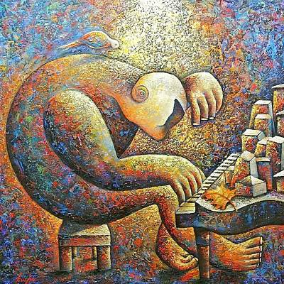 Painting - The Love Song by Hayk Matsakyan