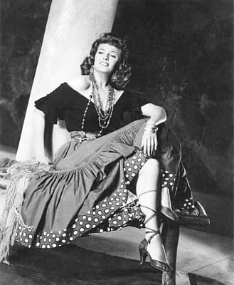 The Loves Of Carmen, Rita Hayworth, 1948 Art Print by Everett