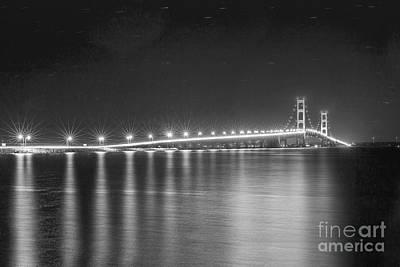 Mackinac Bridge Photograph - The Mackinac Bridge by Twenty Two North Photography