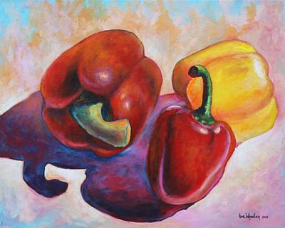 Bell Pepper Painting - The Main Ingredient by Eve  Wheeler
